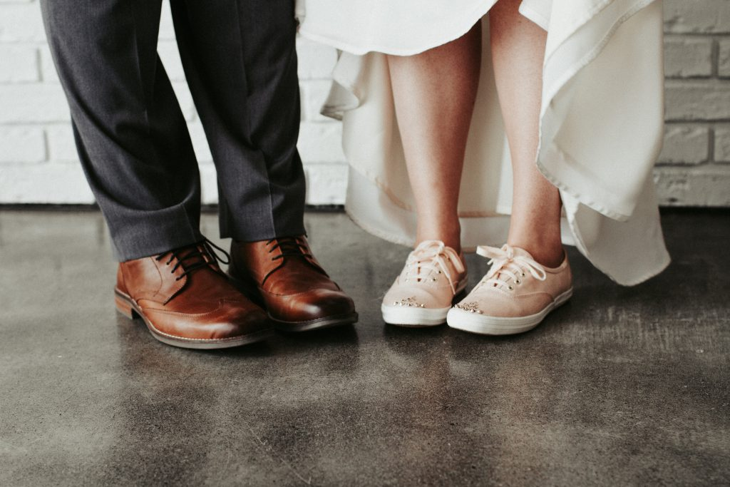 shoes, wedding day, details