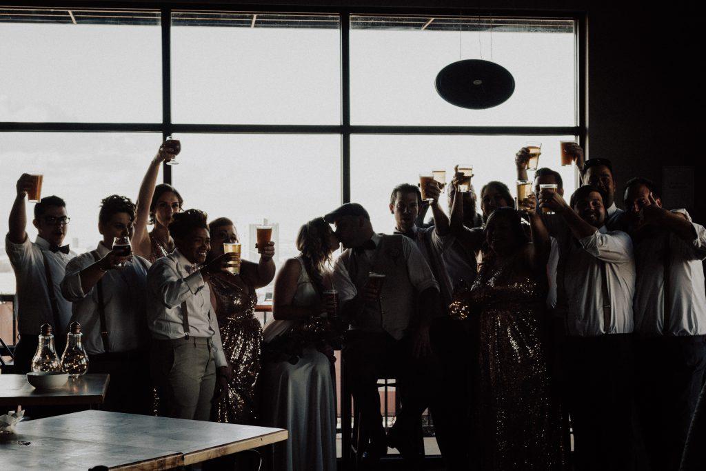 beer, wedding, elopement , coppertop