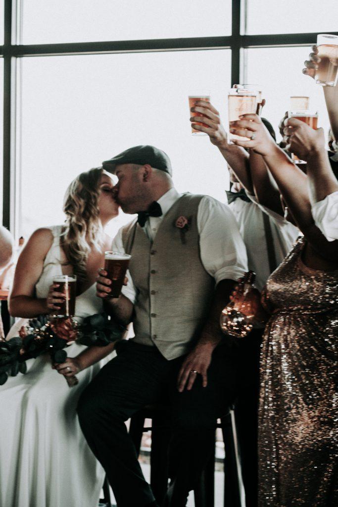 beer, elopement , coppertop