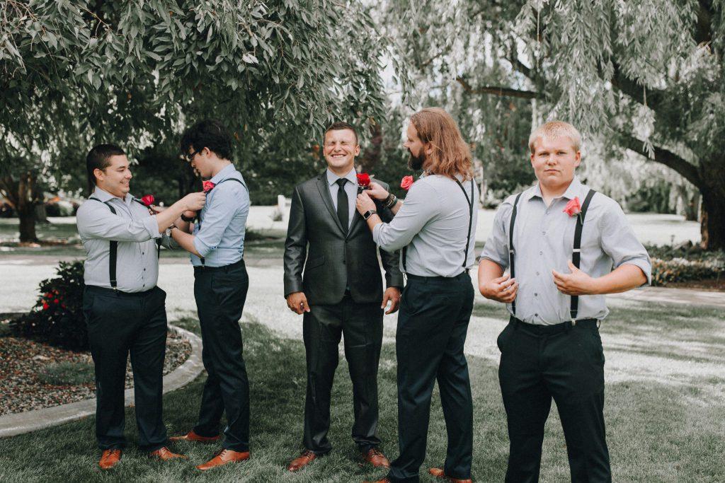 groom, best man, wedding photographer