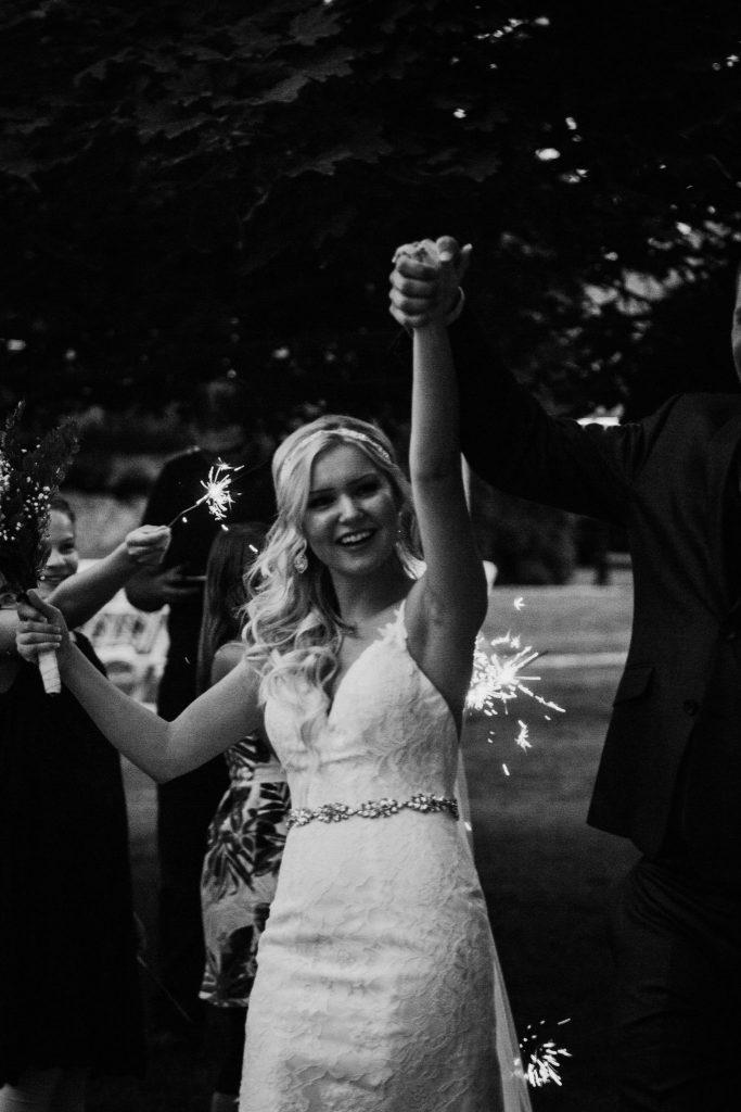 sparklers, exit, wedding, wedding photographer