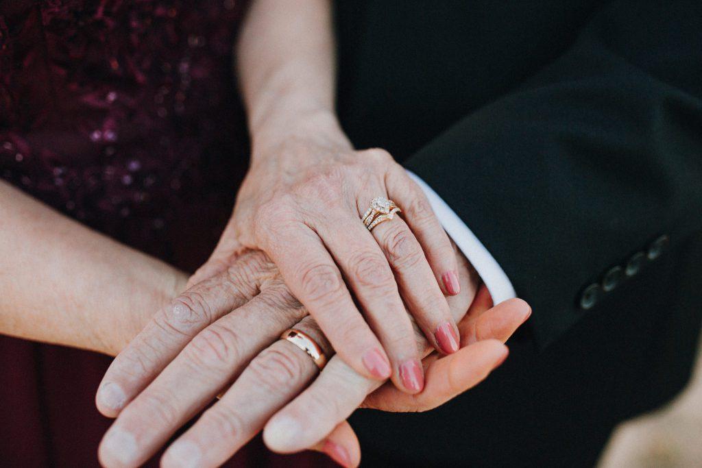 wedding, bride, rings