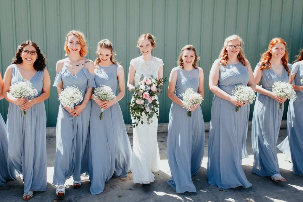 bridesmaids, mormon orchards