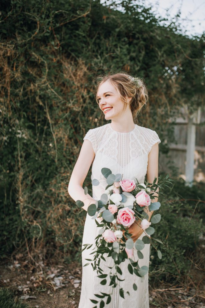 bride, wedding, dress
