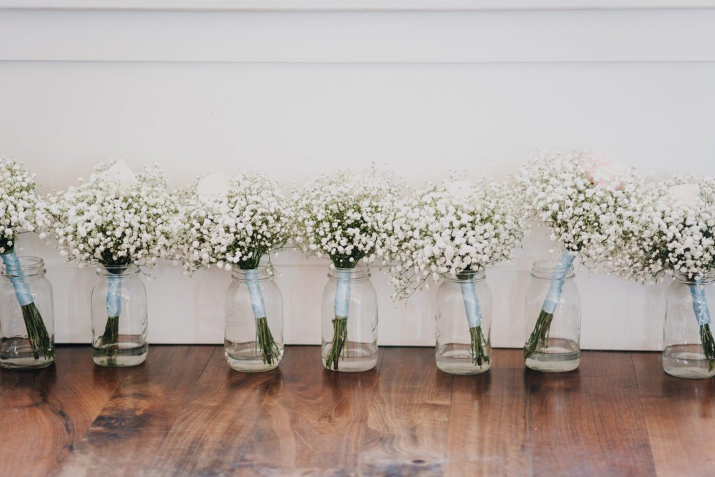 floral, wedding day, details