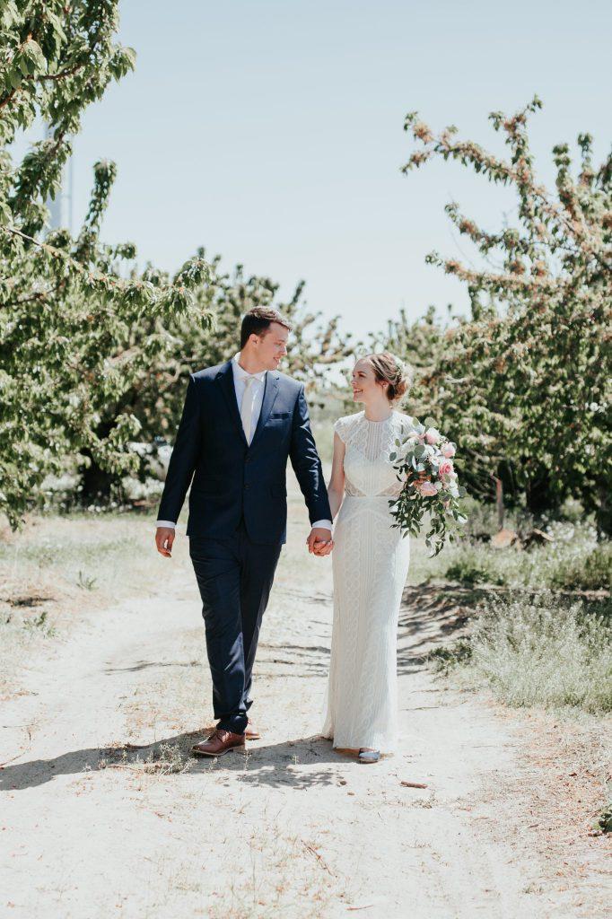 bride, wedding, first look