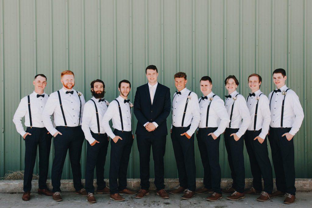 groomsmen, wedding, groom