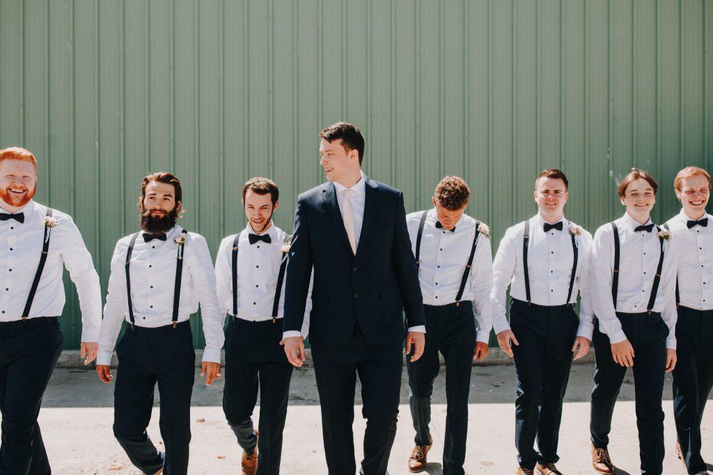 groom, bridal party