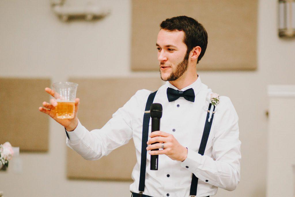 toasts, wedding, reception