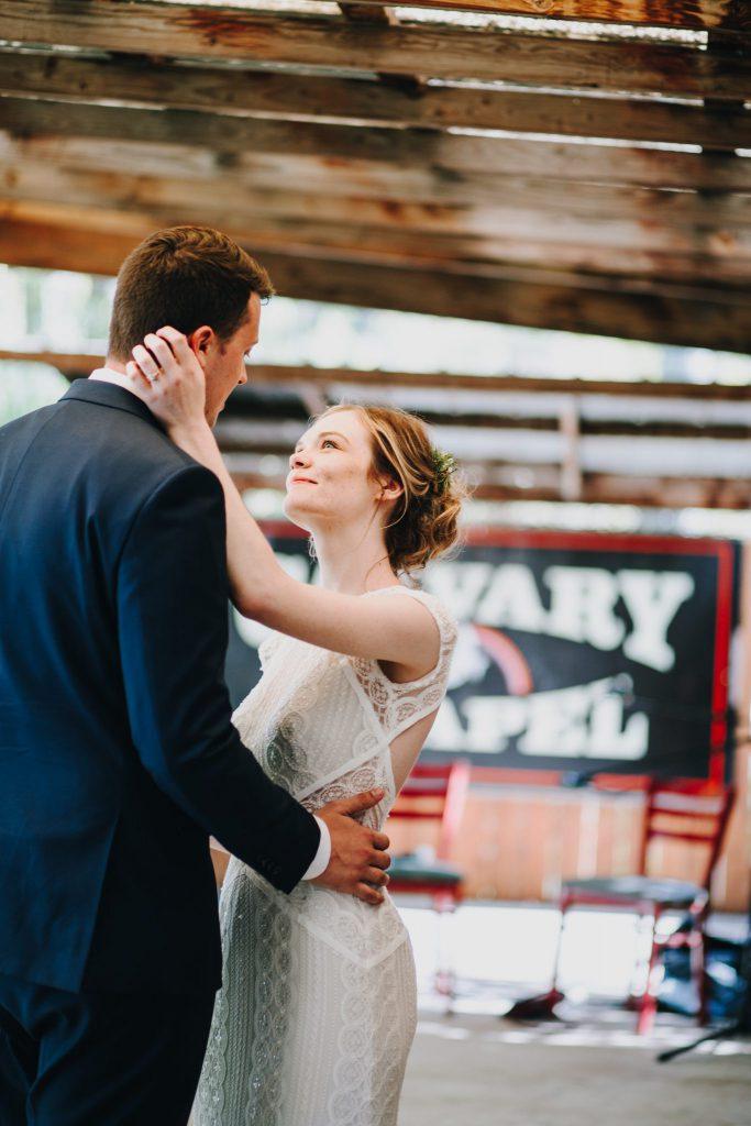 first dance, wedding, couple