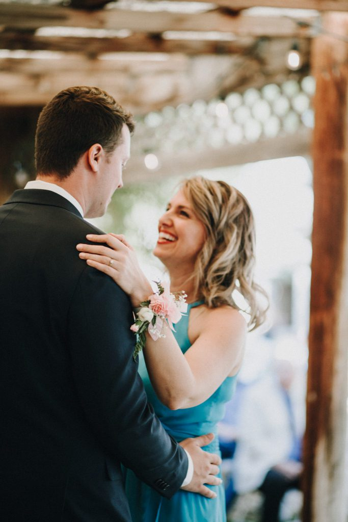 first dance, mother son dance, reception