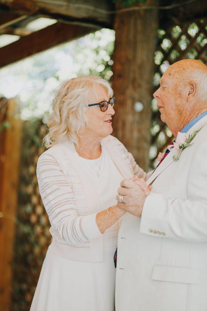 couple, reception, dancing